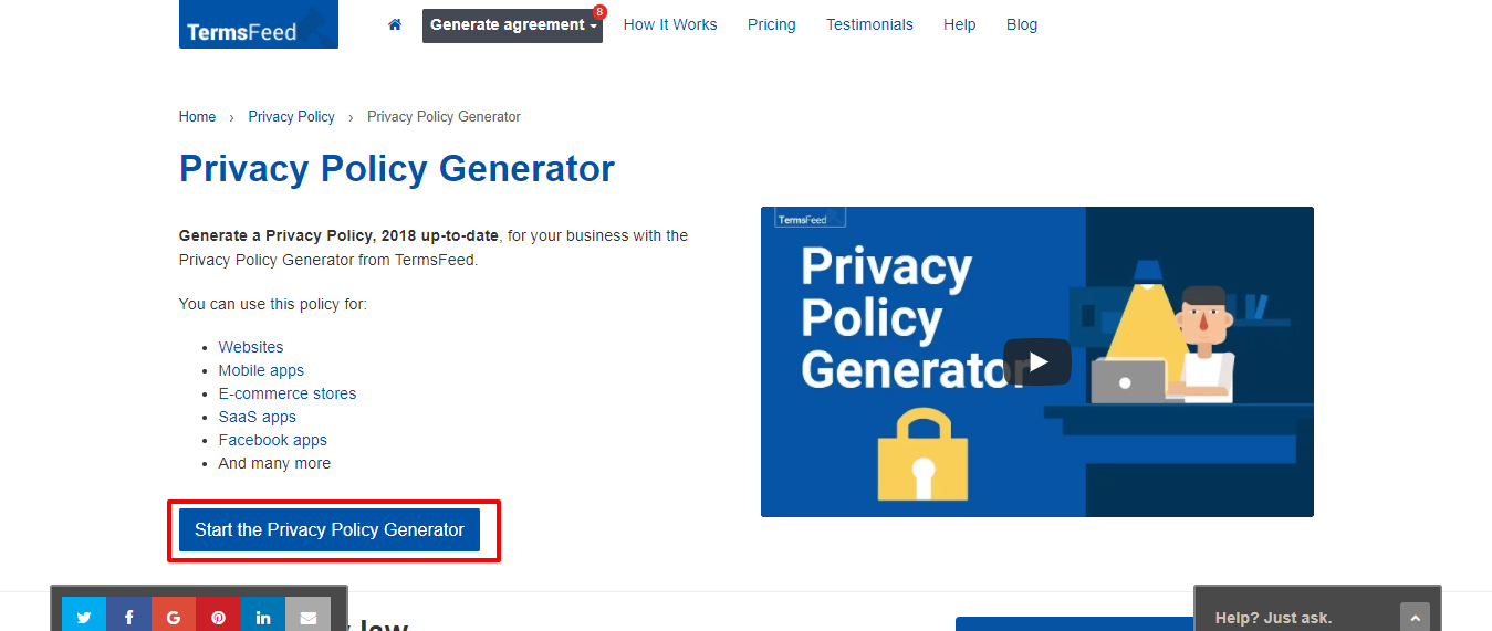 Privacy Policy Url Facebook Developer Example Etm